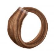 Rapunzel® Extensions Naturali Quick & Easy Original Liscio M5.0/7.4 Golden Brown Mix 30 cm
