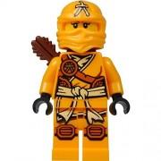 LEGO Ninjago Minifigure - Skylor Female Orange - Gold Ninja with Crossbow & Quiver (70746)