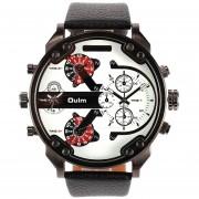 Reloj hombres Oulm HP 3548 Multi sub-esferas - Blanco