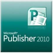 Versión completa multilingüe de Microsoft Publisher 2010