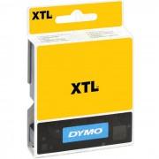 Dymo XTL Tejp Flerfunktionsvinyl 19mm Vitt på rött