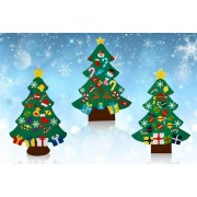 Arther Gold £11 instead of £29.99 for a cone-shaped 3D felt Christmas tree from Arther Gold - save 63%