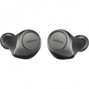 Casti Wireless Bluetooth Elite 75T In Ear, Microfon, Passive noise-cancellation, Multi-connect, IP55, Titanium Black Negru JABRA