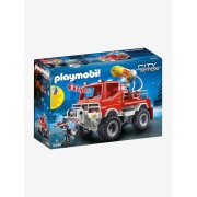 Playmobil 9466 Todo-o-terreno dos bombeiros, da Playmobil vermelho medio liso com motivo