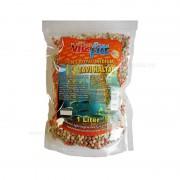 Hrana granulata pentru pesti de balta, 1 L