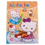 Carte de colorat Hello Kitty