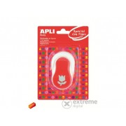 """Perforator decorativ cu model Apli """"Creative"""", lalele, roșu"""