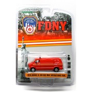 1976 Dodge B 100 Haz Mat Operations Van 2015 Greenlight Collectibles City Of New York Fire Department 1:64 Scale Limited Edition Die Cast Vehicle
