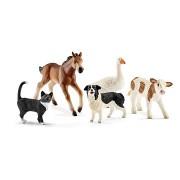 Schleich 42386 A farm állatai, 5 darabos szett