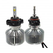 2 Pcs H16 25w Philips Mz 3000lm 6000k Blanco Light Car Led Head Lamp With Driver, Dc 11-30v