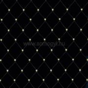 Világító háló, 6x4m, melegfehér, kül., 400 LED
