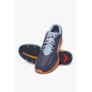 Puma Ignite Mesh Periscope-Quarry-Vermillion Orange Running Shoes For Men(Grey)