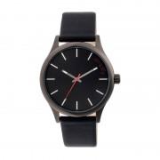 Simplify The 2400 Leather-Band Unisex Watch - Black SIM2404