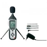 VOLTCRAFTSL-451 Zajszintmérő műszer, decibel mérő 31,5 Hz - 8 kHz (105031)