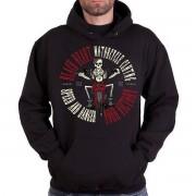 kapucnis pulóver férfi - Speed And Danger - BLACK HEART - BH100