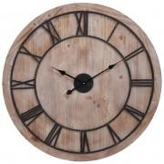 Zegar ścienny metal/MDF duży RETRO LOFT 80cm XXL
