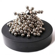 ZMI Magnetic Sculpture Desk Toy with Stainless Steel Ball for Intelligence Stress Relief Office Decoration Children Gifts Set of 171 Balls