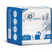 Ontex - ID Pants Pack de 4 sachets de ID Pants L Plus