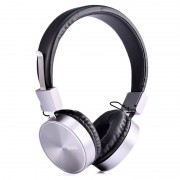 Hoco W2 Foldable Over-ear Headphones - 3.5mm - Black