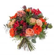 Interflora Ramo variado en tonos naranjas - Flores a Domicilio