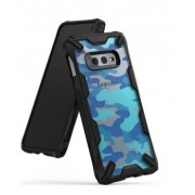 Protectie spate Ringke FUSION X Design pentru Samsung Galaxy S10e Lite (Albastru)