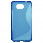 Capa de TPU S-Curve para Samsung Galaxy Alpha - Azul