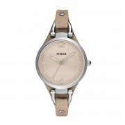 Fossil Zegarek FOSSIL - Georgia ES2830 Light Brown/Silver/Steel