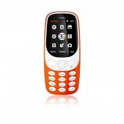 EY Samgle 3G 3310 Teléfono Móvil 3D De 2,4 Pulgadas Pantalla Curvada De RAM 64 MB + 128 MB De ROM-orange