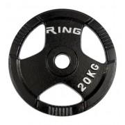RING Olimpijski tegovi liveni sa hvatom 1x 20kg RX PL14-20