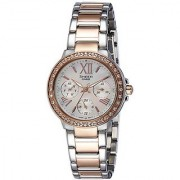 Casio Sheen Analog Silver Dial Womens Watch-She-3052Spg-7Audr (Sx189)