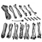 Kit cabluri modulare BitFenix Alchemy 2.0 SSC-Series Black/White