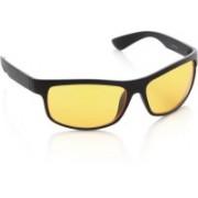 Joe Black Rectangular Sunglasses(Yellow)