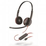 Plantronics Blackwire 3220 Auscultadores com Microfone USB-C