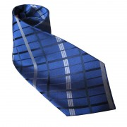 Distino Of Melbourne Nude Silk Necktie Navy Blue N5