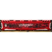 CRUCIAL Mémoire 16Go DDR4 2400Mhz PC4-19200 BALLISTIX SPORT LT Rouge