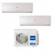 HAIER Stronclimatizzatore Haier Flexis Dual Split 9000+9000 Btu Wifi Inverter In R32 As25s2sf1fa-Mw 2u50s2sf1fa A+++