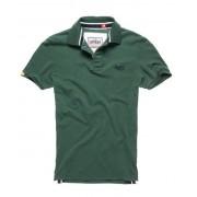 Superdry Classic Pique Polo-Shirt XXL grün
