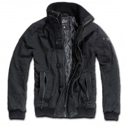 veste pour hommes printemps-automne BRANDIT - Brochet Road - Noire- 3134/2