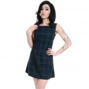 rochie femei 3RDAND56th - 60s retro - bleumarin / Verde - JM1284