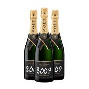 Champagne Moët & Chandon Grand Vintage 2009 (x3)