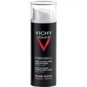 Vichy Homme Hydra-Mag C cuidado hidratante para eliminar signos de cansancio de la piel y contorno de ojos 50 ml