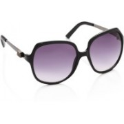Miami Blues Over-sized Sunglasses(Grey, Violet)