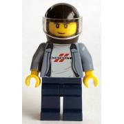 sc072 Minifigurina LEGO Speed Champions-Pilot Dodge Charger sc072