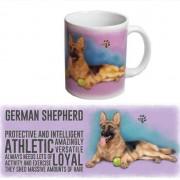 123 Kado koffiemokken Duitse Herder thee mok 300 ml