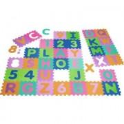Playshoes EVA PUZZLE TAPPETO, 36 pezzi - colorato