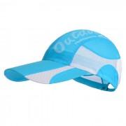 Naturehike gorra de beisbol de secado rapido al aire libre - azul + blanco