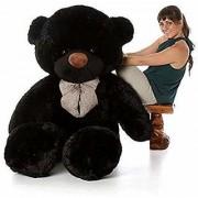 Teddy Bear Birthday Gift for Girlfriend/Wife Happy Birthday Teddy Soft Toy 5 feet- Chocolate(151cm)