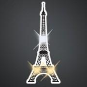 Eiffel Tower Light Up Flashing Led Lapel Pins (Set Of 25)