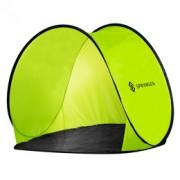 Plážový stan POP-UP Springos 150 x 120 CM - zelený