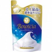 """COW """"Bouncia"""" Жидкое увлажняющее мыло для тела с гиалуроновой кислотой и коллагеном, с цветочным ароматом, запасной блок, 430 мл."""